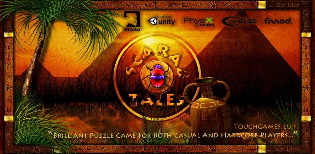 Hra Scarab Tales je nově dostupná na iOS a WP8