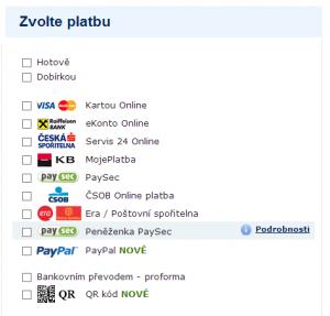 Alza.cz - QR platby 2
