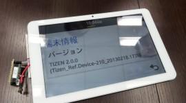 Prototyp tabletu se systémem Tizen na videu