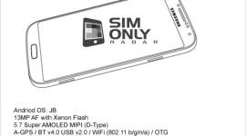 Galaxy Note III na obrázcích z příručky [spekulace]