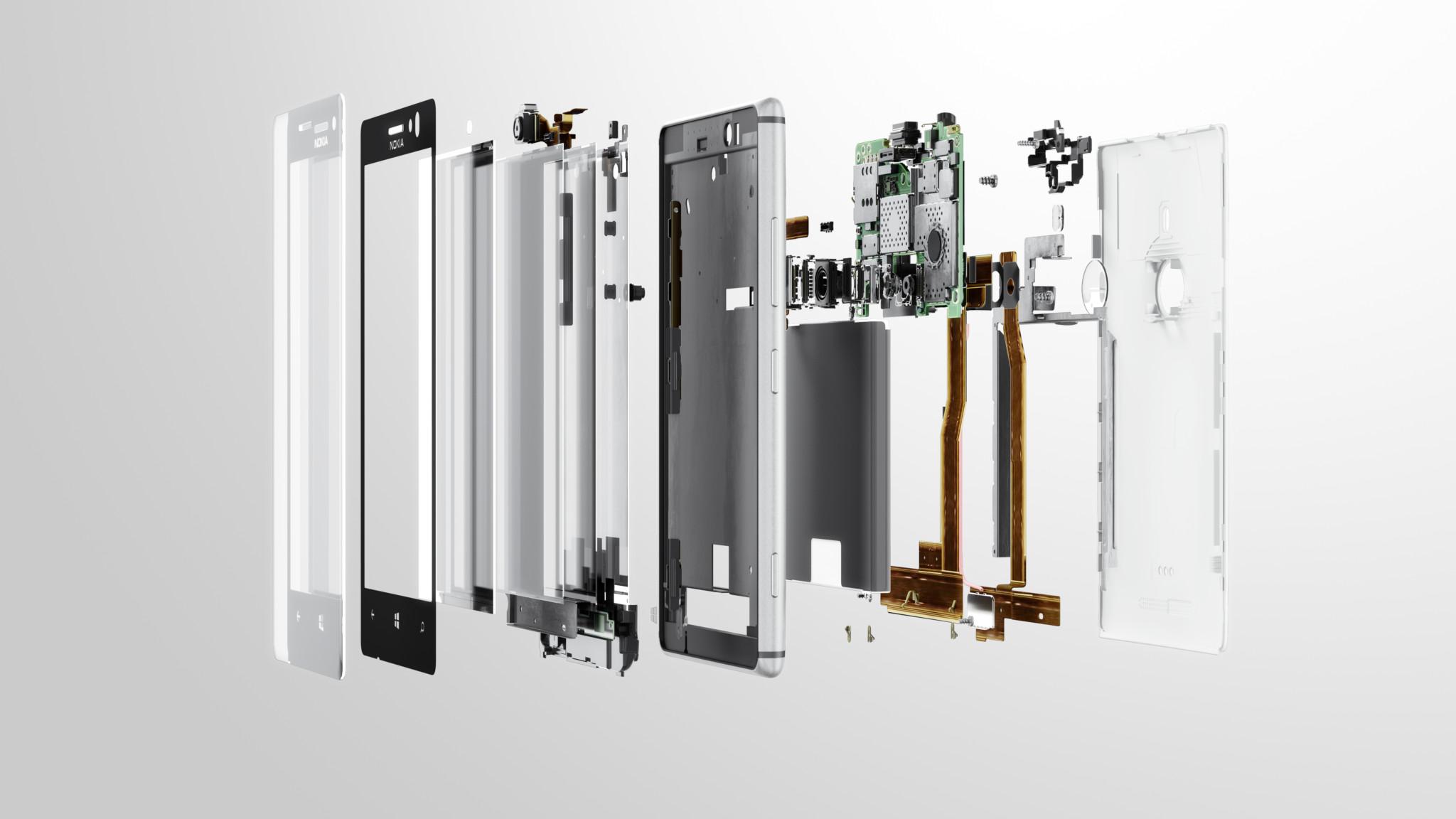 Lumia 925 rozložena na součástky [detailní obrázky, video]