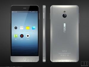 Meizu MX3 - render