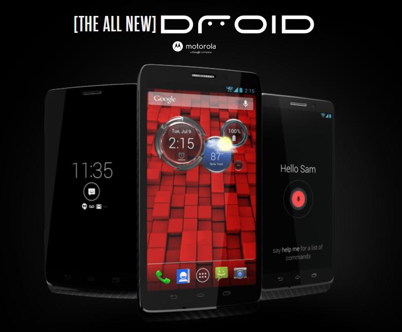 Motorola představila novou řadu Droid – Ultra, Maxx a Mini