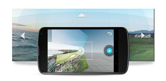 Android 4.3 získal vylepšení PhotoSphere