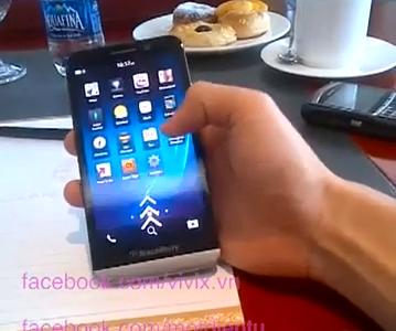 BlackBerry A10 zachycen na videu [aktualizováno]