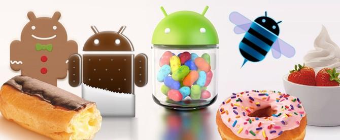 Android Jelly Bean už na 40.5 % zařízení [statistika]