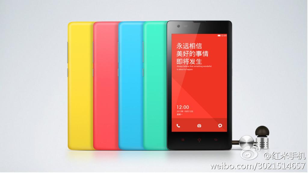 Xiaomi představuje smartphone Hongmi (Red Rice)
