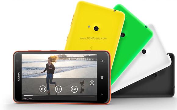 Nokia Lumia 625 – 4,7 palce s LTE a nízkou cenou