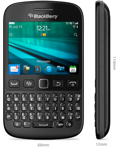 Novinka BlackBerry 9720 má starší systém ve verzi 7.1 [aktualizováno]