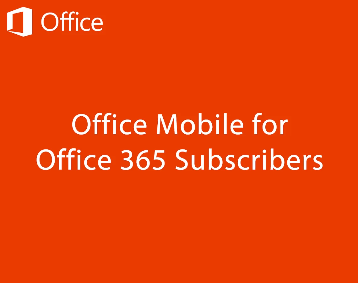 Microsoft Office Mobile pro Android je na Google Play