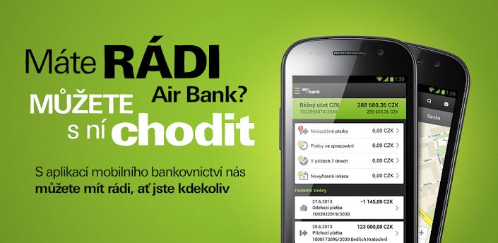 Aplikace AirBank konečně pro Android