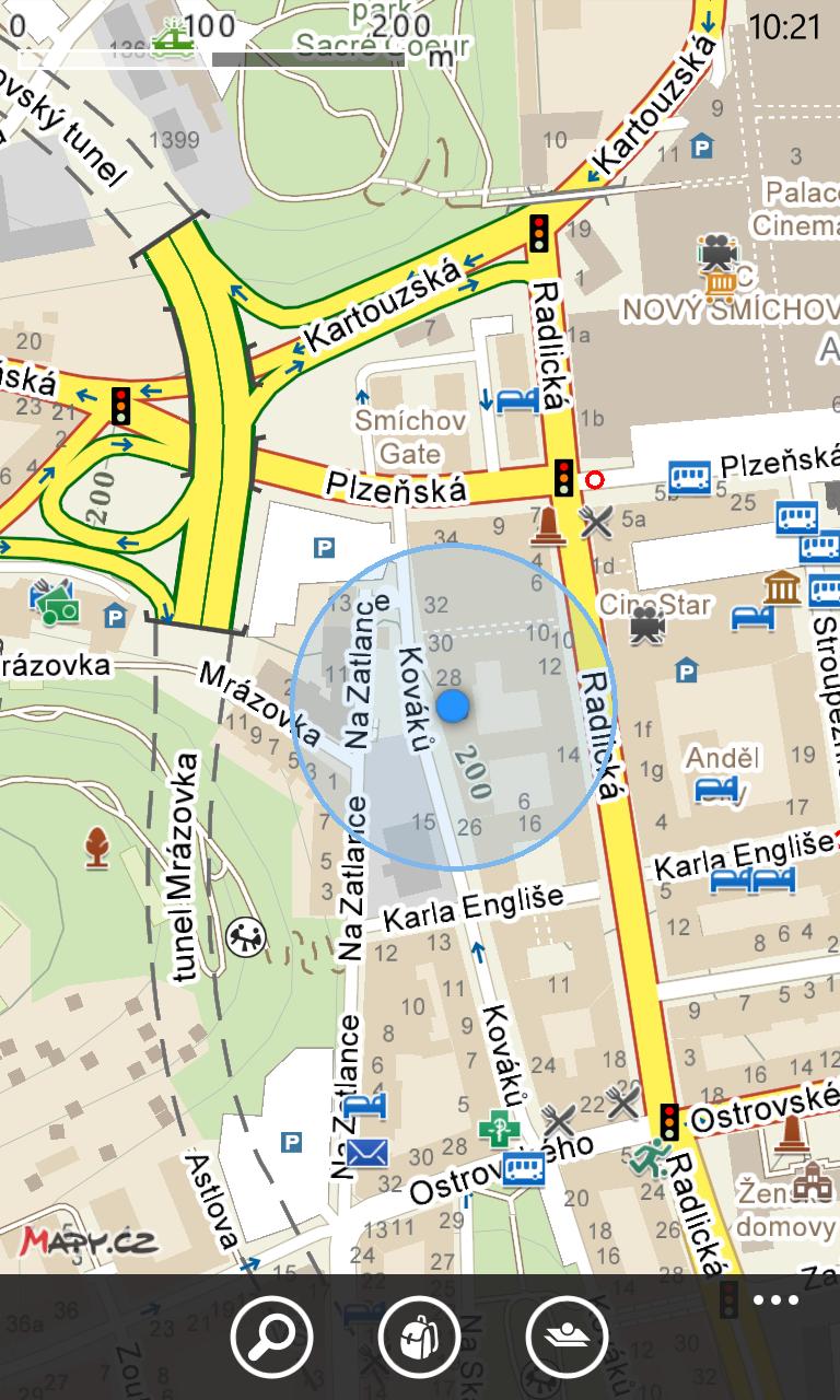 Offline mapy od Seznamu už i pro Windows Phone [aktualizováno]