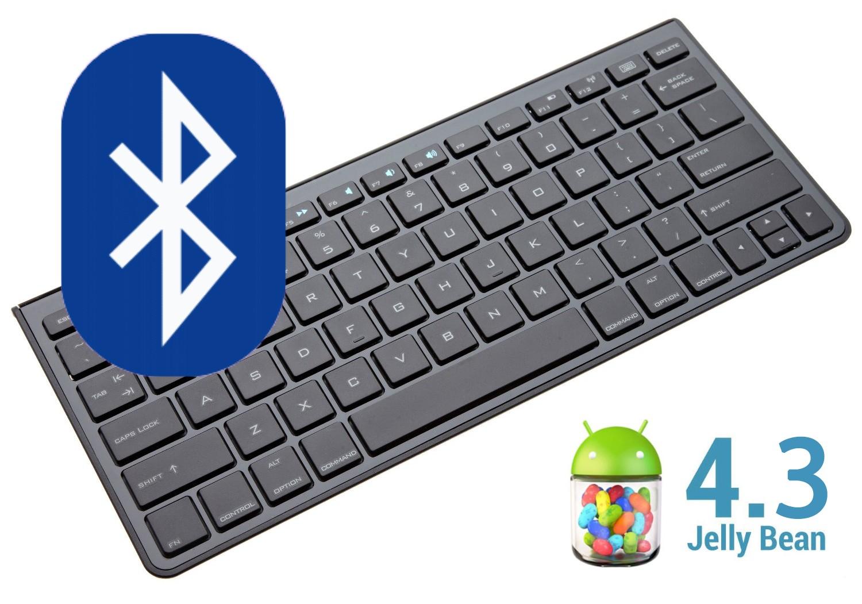 Aktualizace na Android 4.3 přináší nekompatibilitu s mnoha Bluetooth klávesnicemi