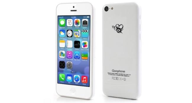 GooPhone v září představí klon iPhone 5C