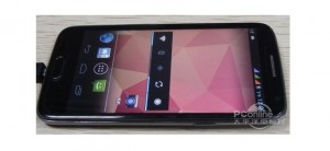 GooPhone X1+ - přední část