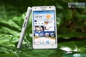 Huawei Honor 3 - přední a boční část