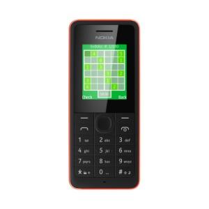 Nokia 106 - přední panel
