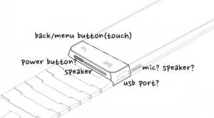 Samsung Galaxy Gear - části