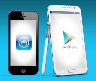 Obchod Play překonal Apple App Store v počtu stažení aplikací