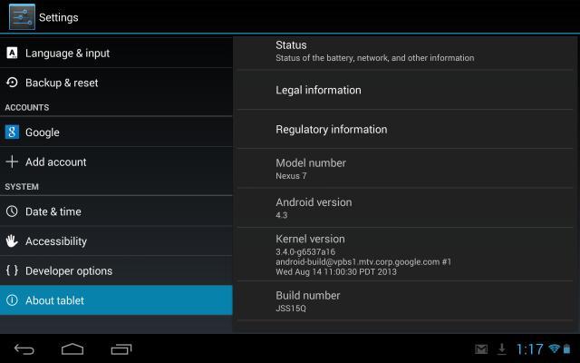 nexus 7 2013 xda android development
