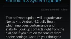 Nexus zařízení získávají aktualizaci JWR66Y a JSS15Q