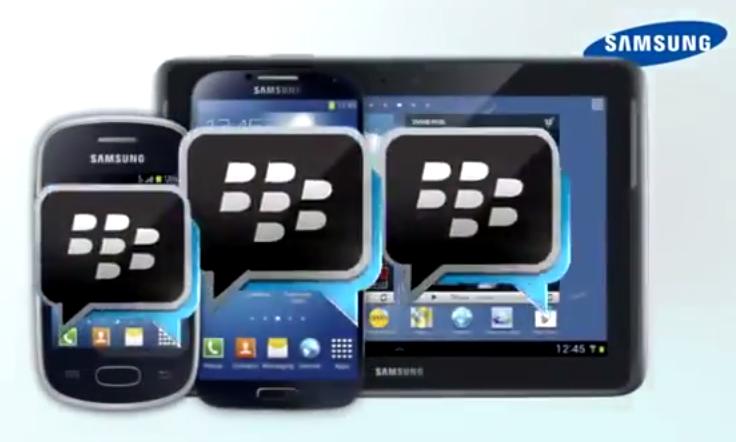 Samsung začne lákat na BlackBerry Messenger – první video k dispozici
