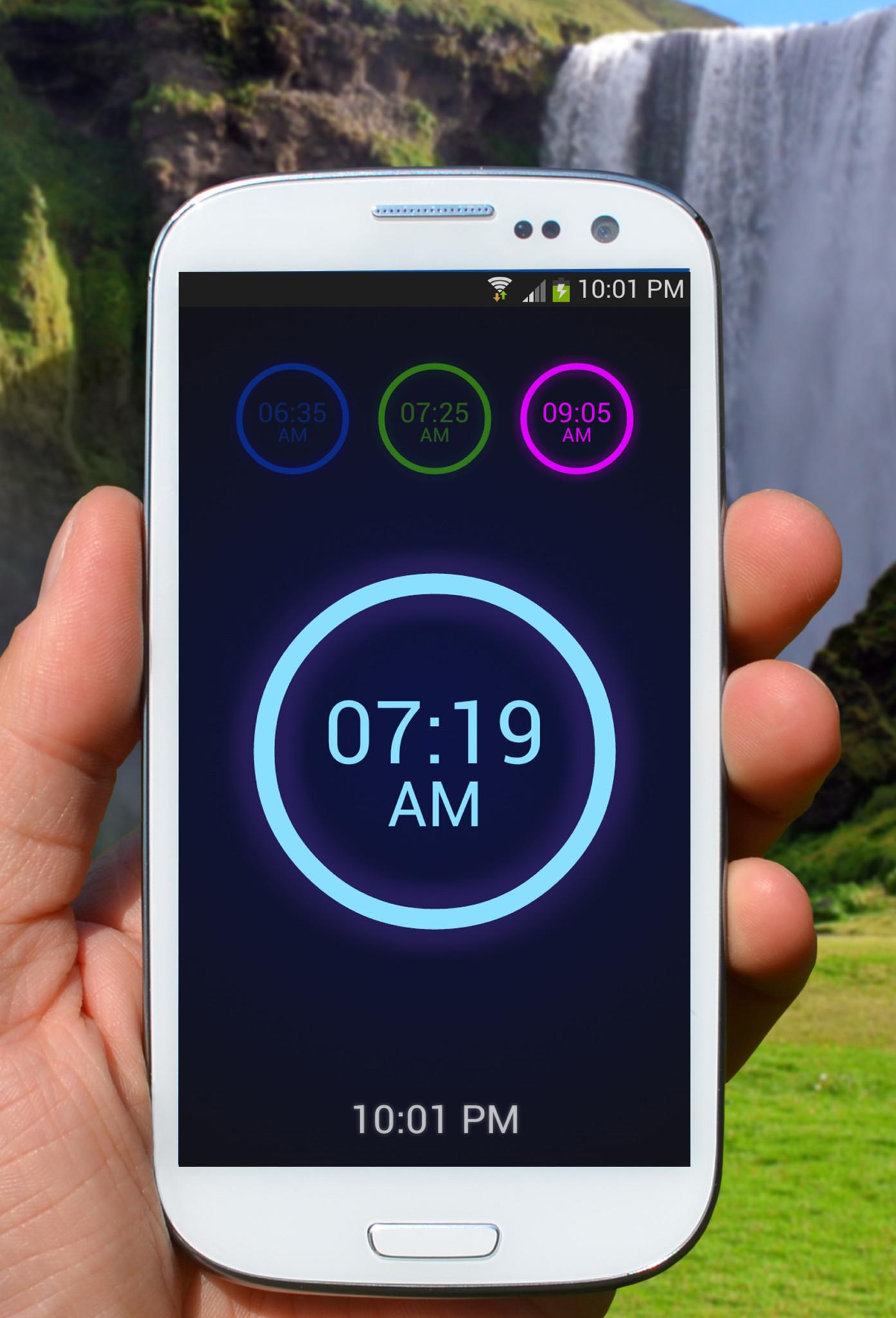 Neon Alarm Clock: Moderní budík s nevšedními funkcemi [Android]