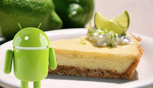 Android Key Lime Pie je testován na Nexusu 4 a 7
