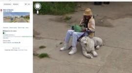 Šílené záběry ze Street View – chovatel tygra, potápěči nebo ruka v nose
