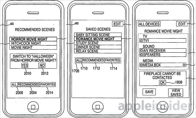 Nový patent Applu zajistí ovládání domácnosti pomocí iPhonu