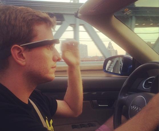 2400 km s Google Glass v reálném dopravním provozu