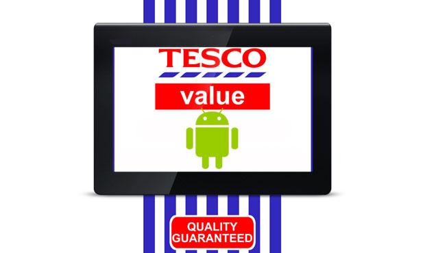 Tesco připravuje vlastní tablet