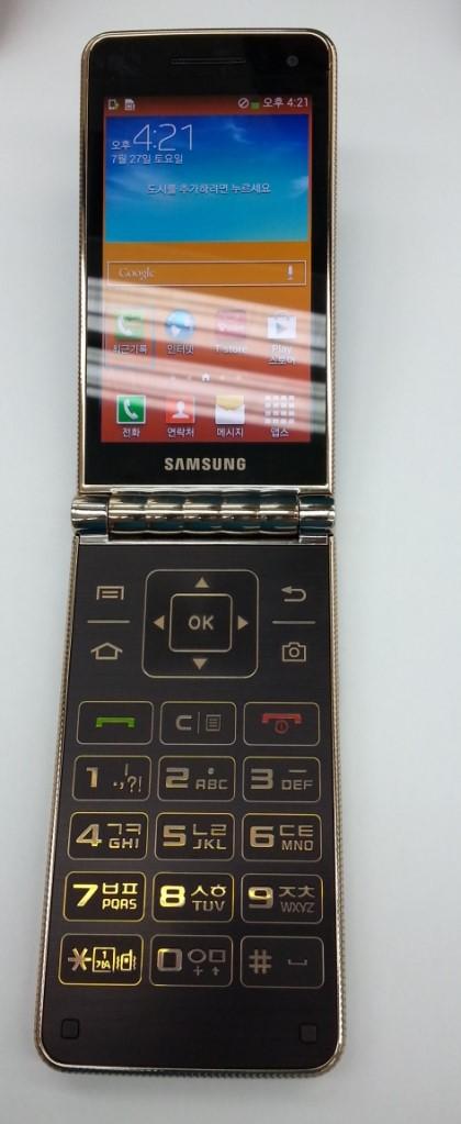 "Samsung Galaxy Golden – návrat ""véčka"" s dvěma displeji a Androidem"