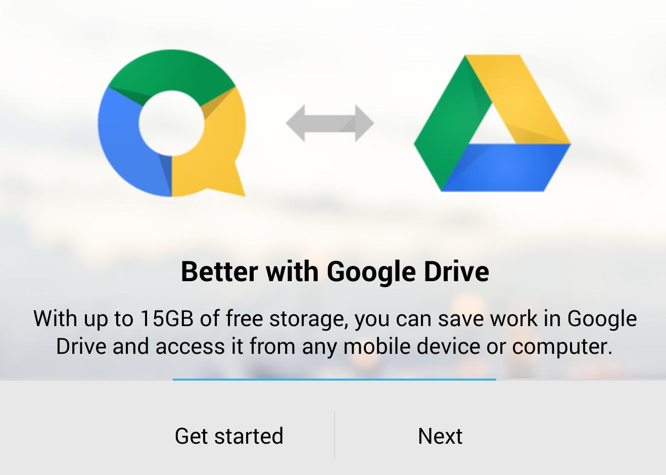 QuickOffice je nyní zdarma a napojený přímo na Google Drive