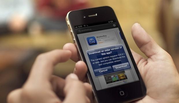 AppStore nově umožňuje nainstalovat starší verze aplikací