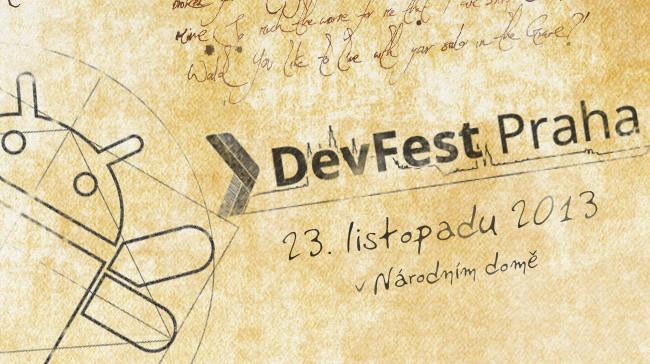 Listopadový DevFest Praha – od vývojářů i pro vývojáře