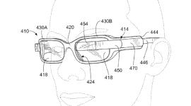 Google Glass s dvěma bateriemi na patentové přihlášce