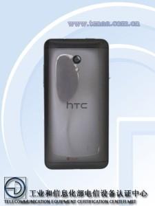 HTC 7060 - zadní část