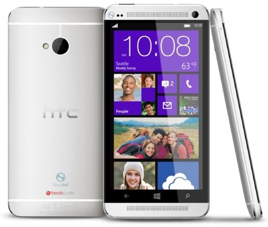 HTC zkusí WP8 u modelu Harmony