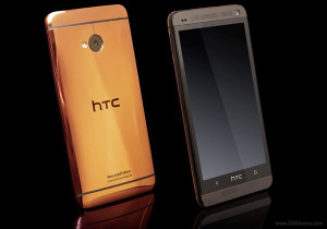HTC One Pink Gold Edition