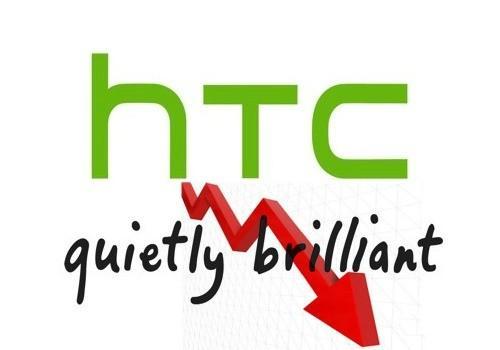 Prodeje HTC strmě klesají o 47 % dolů