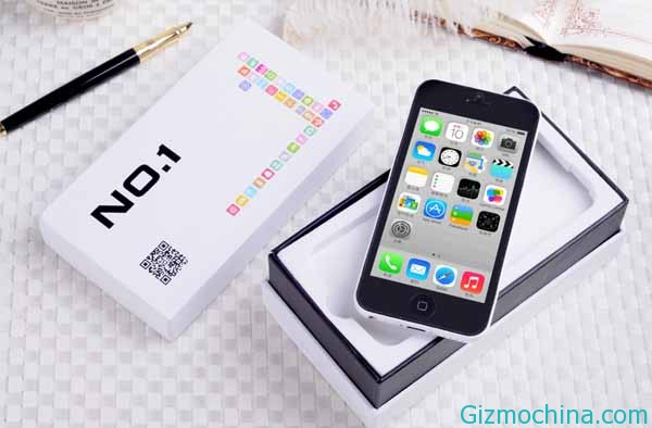 NO.1 5C přichází s kopií iPhone 5C