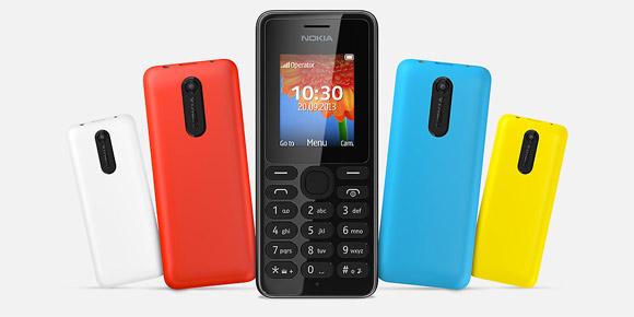 Nokia uvedla modely 108 and 108 Dual SIM