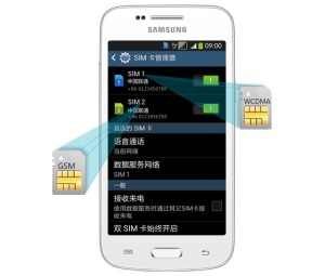 Samsung Galaxy Trend 3 - dual-SIM