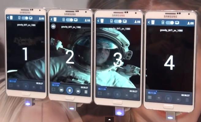 Samsung Group Play – ze 4 smartphonů uděláte jeden velký displej [video]