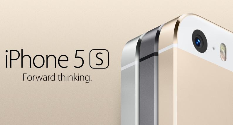 Apple představil iPhone 5S