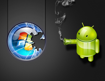 Android vystřídal Windows a nyní zaujímá 60 % trhu