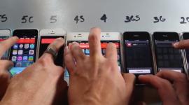 Srovnání rychlosti iPhonů 5S, 5C, 5, 4S, 4, 3Gs, 3G a 2G [video]