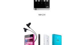 Sony – nové Android přehrávače NW-ZX1 a NW-F880