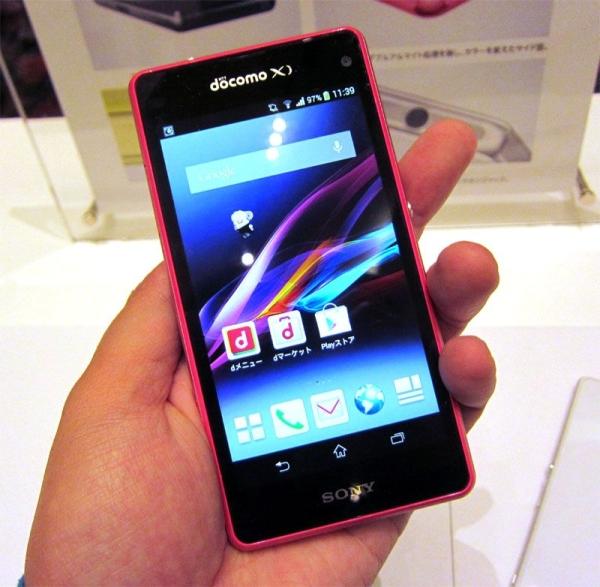 Sony představilo Xperii Z1F jako mini verzi Z1 [aktualizováno]